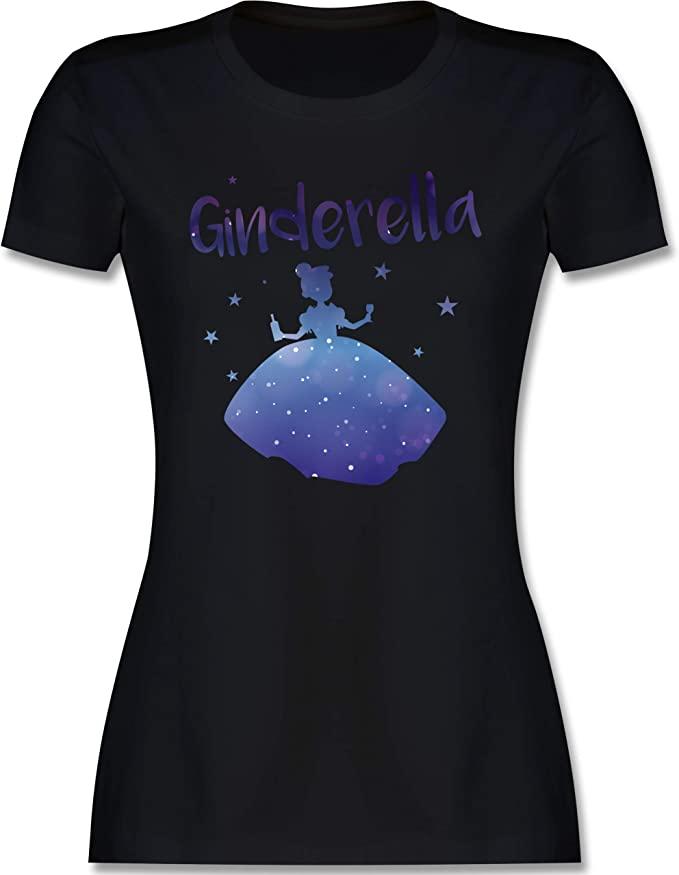 Ginderella frauen shirt gin liebhaber geschenk