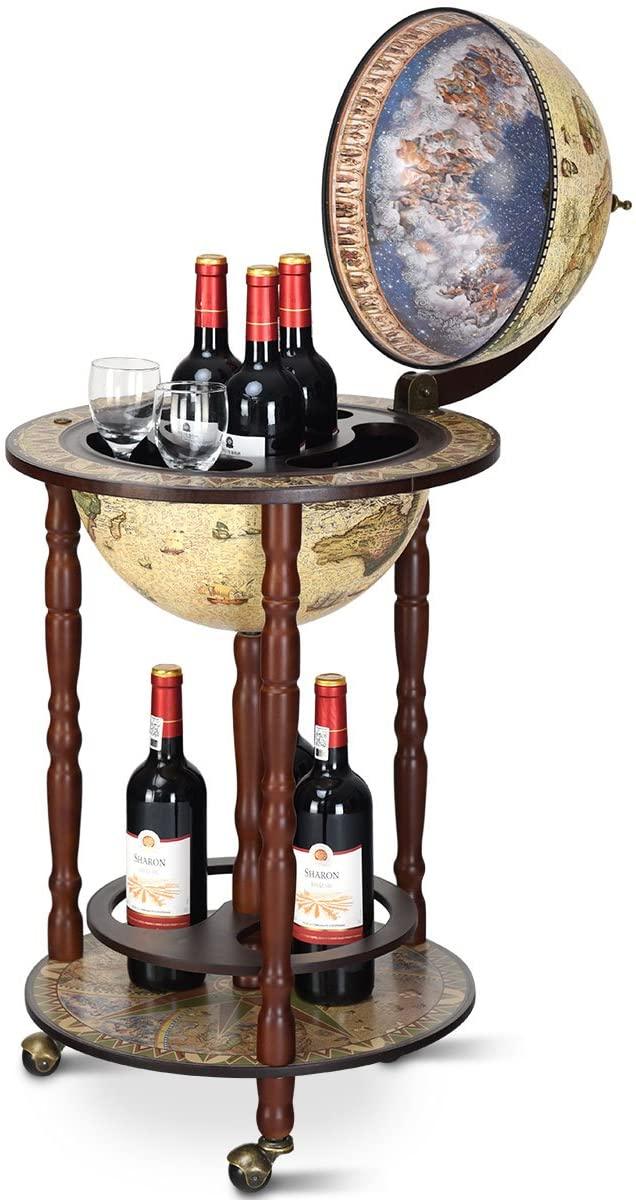 Globusbar Flaschenregal