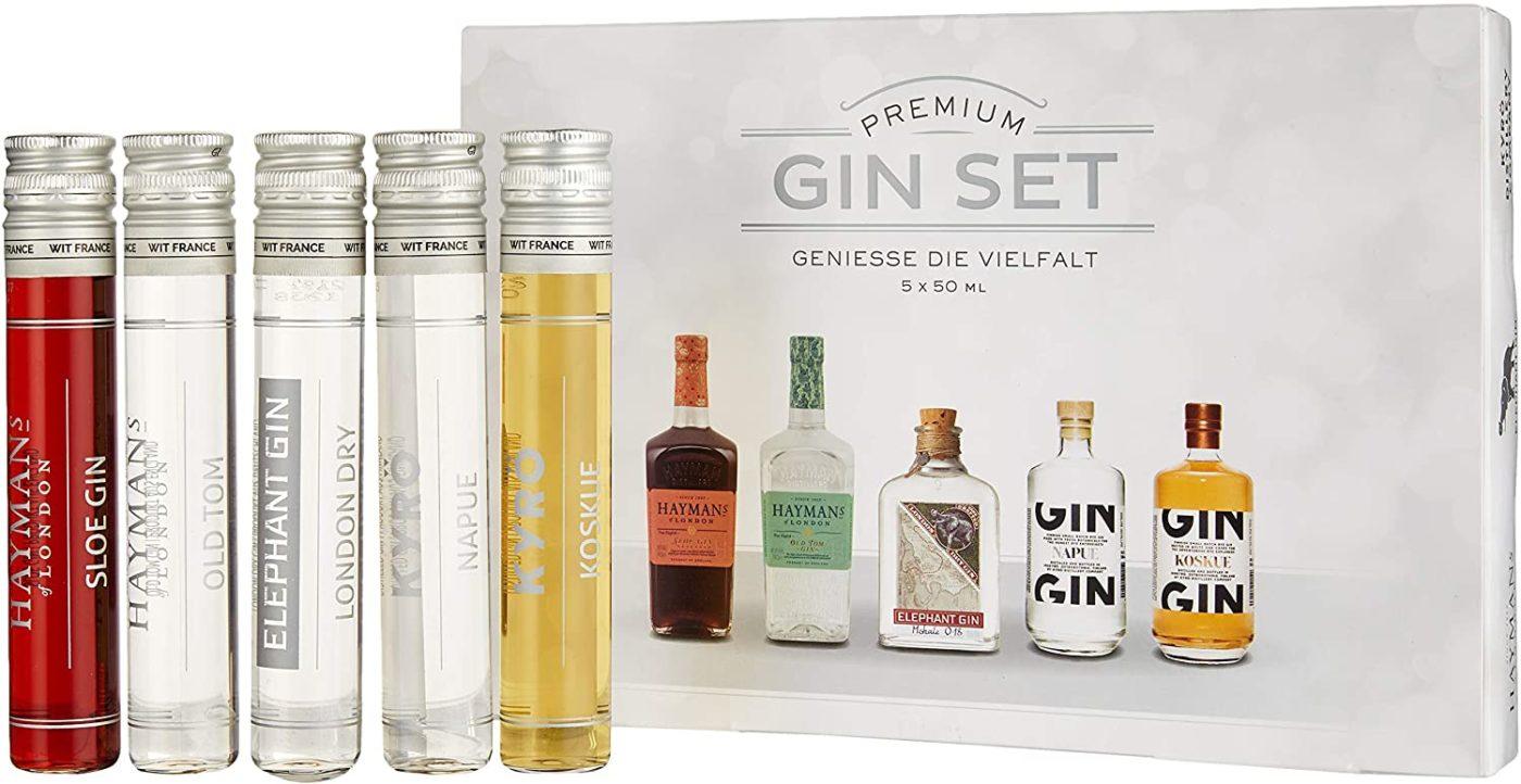 Gin probierset ginsorten testen